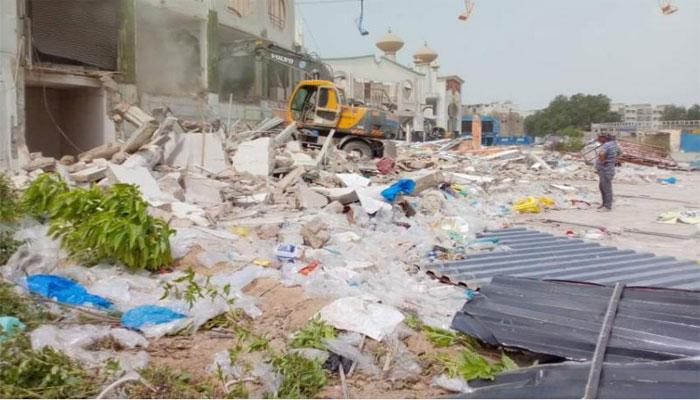 کمشنر کراچی کو ملبہ ہٹا کر الہٰ دین پارک بحال کرنے کی ہدایت