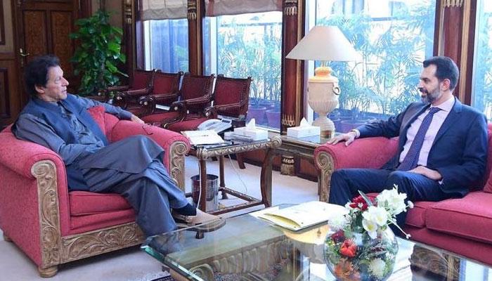 وزیراعظم عمران خان سے گورنر اسٹیٹ بینک رضا باقر کی ملاقات