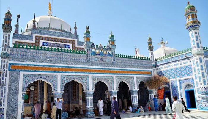 صوفی بزرگ شاہ عبداللطیف بھٹائی کا عرس شروع