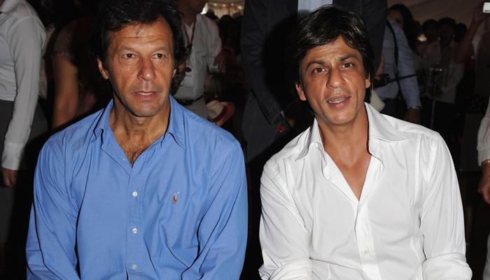 عمران خان کے ساتھ پرانی تصویر وائرل ہونے پر شاہ رخ خان کو بھارت میں تنقید کا سامنا