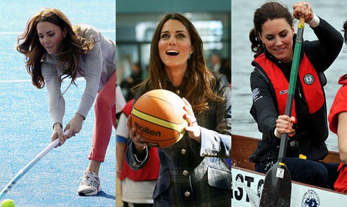 برطانوی شہزادی کیٹ مڈلٹن کی کھیلوں میں دلچسپی
