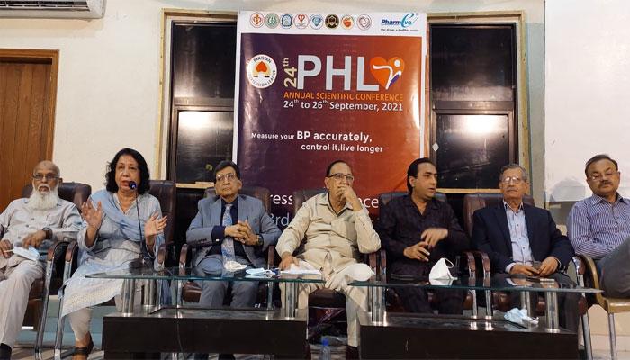 پاکستان میں ہائی بلڈ پریشر کی شرح 46 فیصد سے زائد ہوگئی، ماہرین