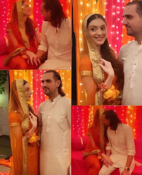 شہباز تاثیر اور نیہا راجپوت کی شادی کا آغاز
