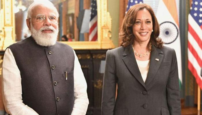 مودی کی امریکی نائب صدر سے ملاقات