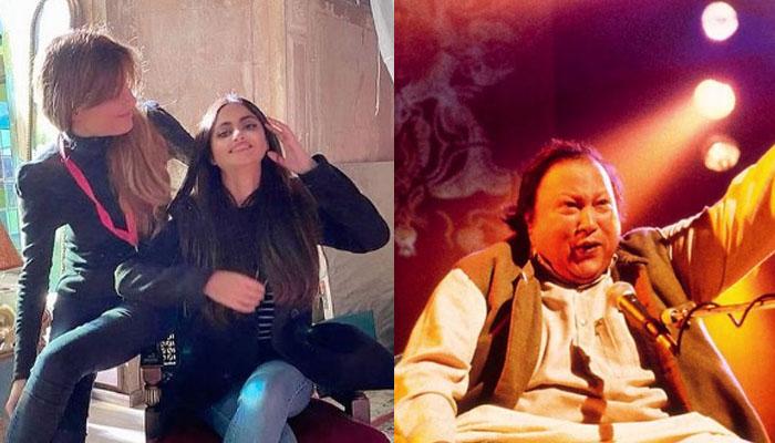 جمائما کی فلم میں نصرت فتح علی خان کی قوالی کا تڑکا