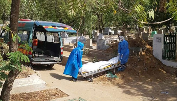 پاکستان میں کورونا وائرس سے مزید 42 اموات