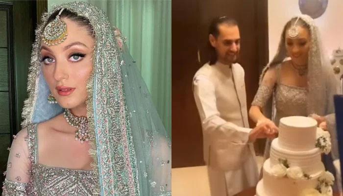 شہباز تاثیر اور نیہا راجپوت کی شادی کی ویڈیوز و تصاویر وائرل