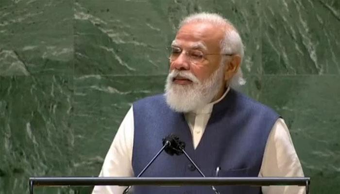 موجودہ دور میں دنیا کو انتہا پسند سوچ کا سامنا ہے، نریندر مودی