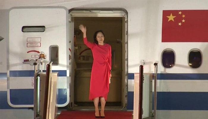 چین و امریکا میں معاہدے کے بعد کینیڈا نے چینی خاتون کو رہا کردیا