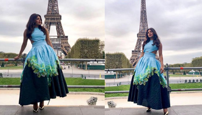 پریانکا کی پیرس کی خوبصورت شام میں گلوبل سٹیزن لائیو ایونٹ کی میزبانی