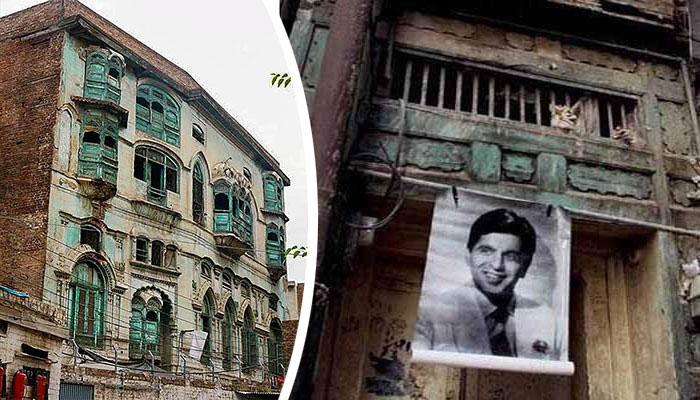 پشاور: دلیپ کمار اور راج کپور کے گھروں کی مرمت کا کام شروع