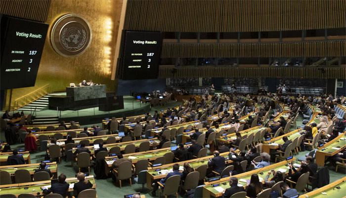 اقوام متحدہ کا اجلاس، کیوبا کی خاتون سفارتکار نے اسرائیلی مندوب کو لاجواب کردیا