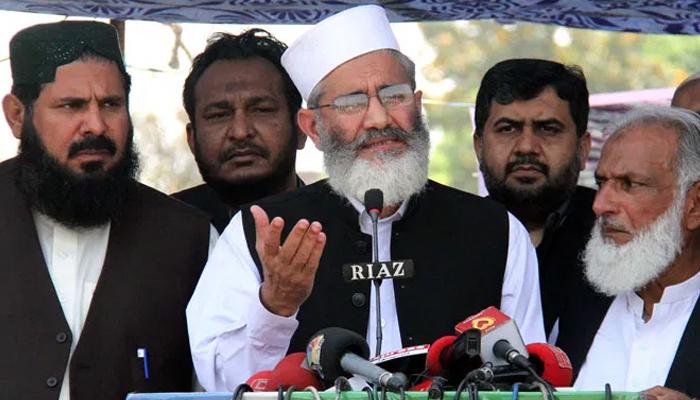 لگتا ہے نئے پاکستان میں حکومت ہی مافیاز کو سونپ دی گئی، سراج الحق