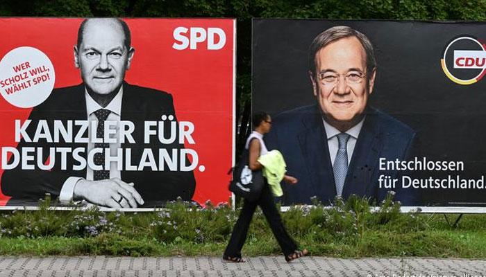 جرمنی میں شولس اور لاشیٹ اتحادی حکومت بنانے کیلئے تیار