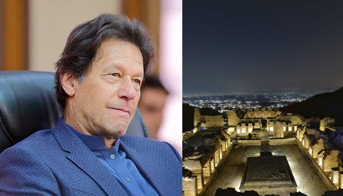 عمران خان نے تخت بائی کی خوبصورت تصاویر شیئر کردیں