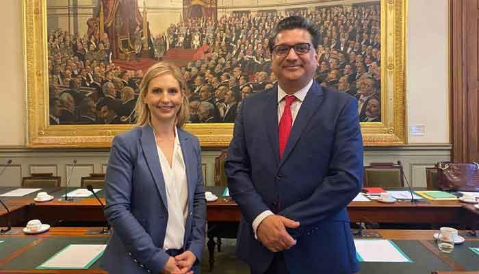 بیلجیم اور پاکستان کے پارلیمنٹیرینز کے درمیان تعاون بڑھانے پر غور