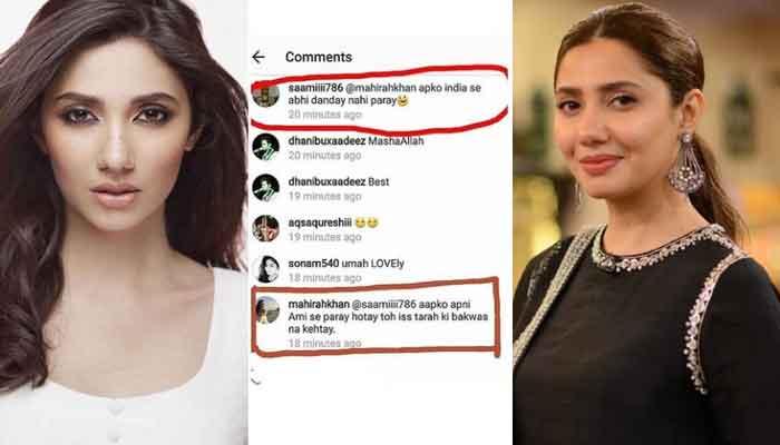 ماہرہ خان کا سوشل میڈیا ٹرولنگ پر کرارا جواب