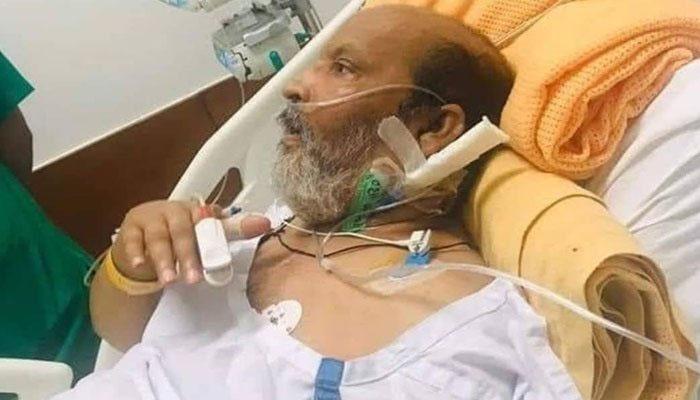 طویل ہوائی سفر میں تھکاوٹ، عمر شریف کو جرمنی کے اسپتال میں داخل کر دیا گیا