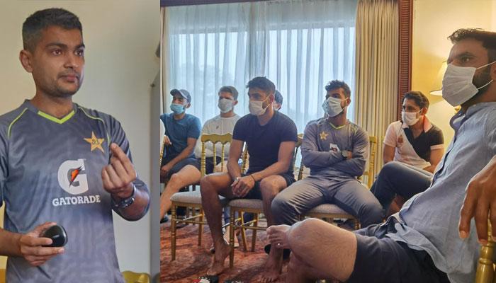 ٹی 20 ورلڈ کپ: قومی اسکواڈ کی کوویڈ 19پروٹوکولز پر بریفنگ