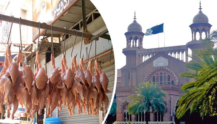 چکن کے یکساں ریٹس مقرر نہ ہونے پر پنجاب حکومت کو نوٹس جاری