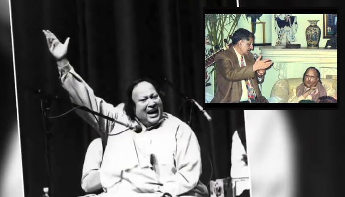 جب بھارتی نغمہ نگار کی انا نصرت فتح علی خان کو دیکھ کر ڈھیر ہوئی