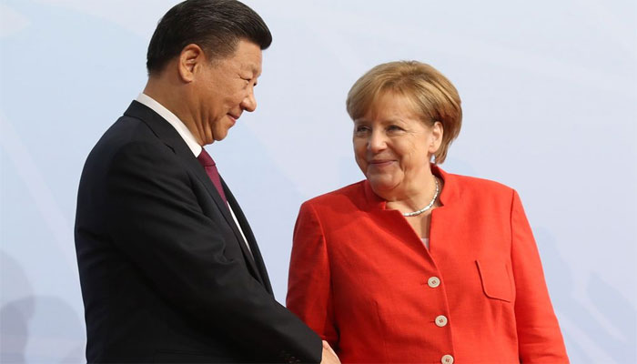 Virtual meeting between Chinese President and German Chancellor, bilateral issues discussed
