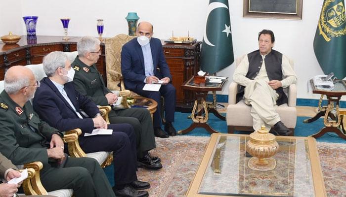 وزیراعظم سے ایرانی چیف آف جنرل اسٹاف کی ملاقات
