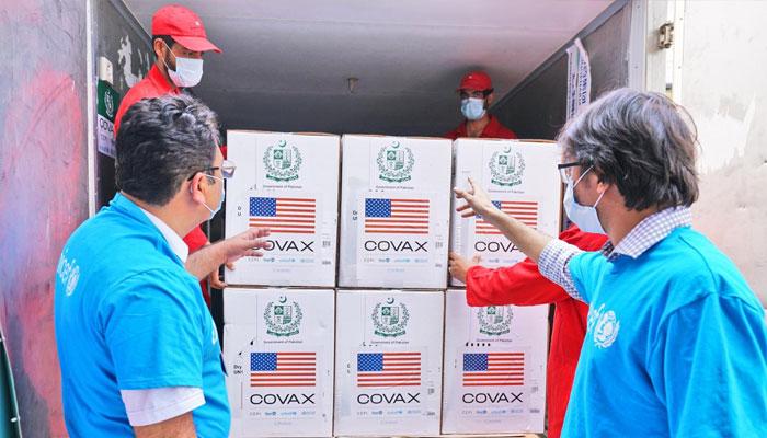 امریکا فائزر کی 2 اعشاریہ 4 ملین خوراکیں پاکستان بھیجے گا