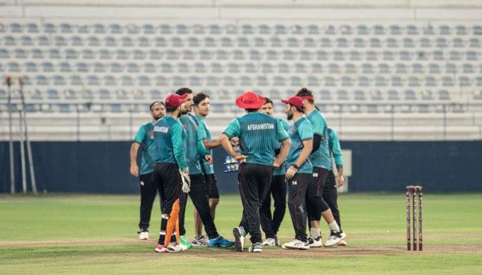 ٹی 20 ورلڈ کپ، افغان ٹیم دبئی پہنچ گئی