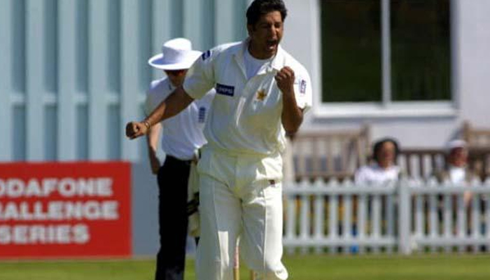 The PCB recalled Wasim Akram's first hat trick