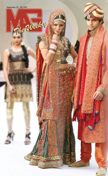 The Modern Indian Bridal Dress